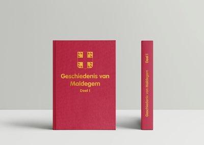 Boek Geschiedenis van Maldegem - deel I